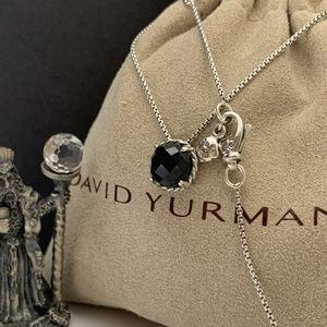 "David Yurman Chatelaine Necklace 16-17"" Long"